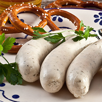 White butifarra sausage