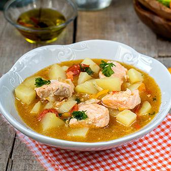 Marmitako (Basque fish stew)
