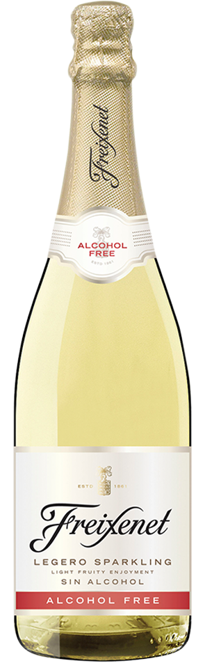 Non-alcoholic sparkling wine