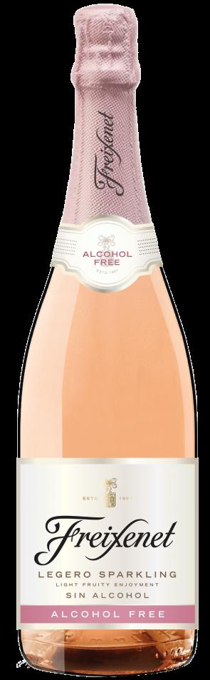 Freixenet sin alcohol rosado