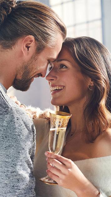Enamorats amb copa de cava - Freixenet