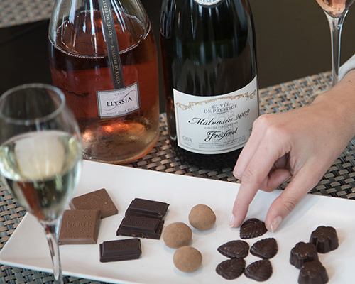 Tasting of Cavas with Chocolate