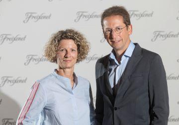 Martina Obregón y Ferran Sostres