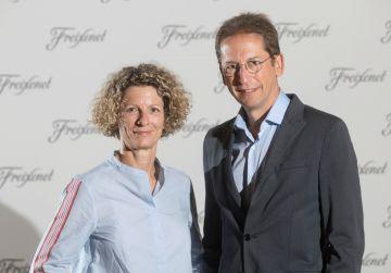 Martina Obregón and Ferran Sostres