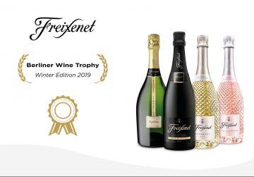 Freixenet triunfa en los premios Berliner Wine Trophy