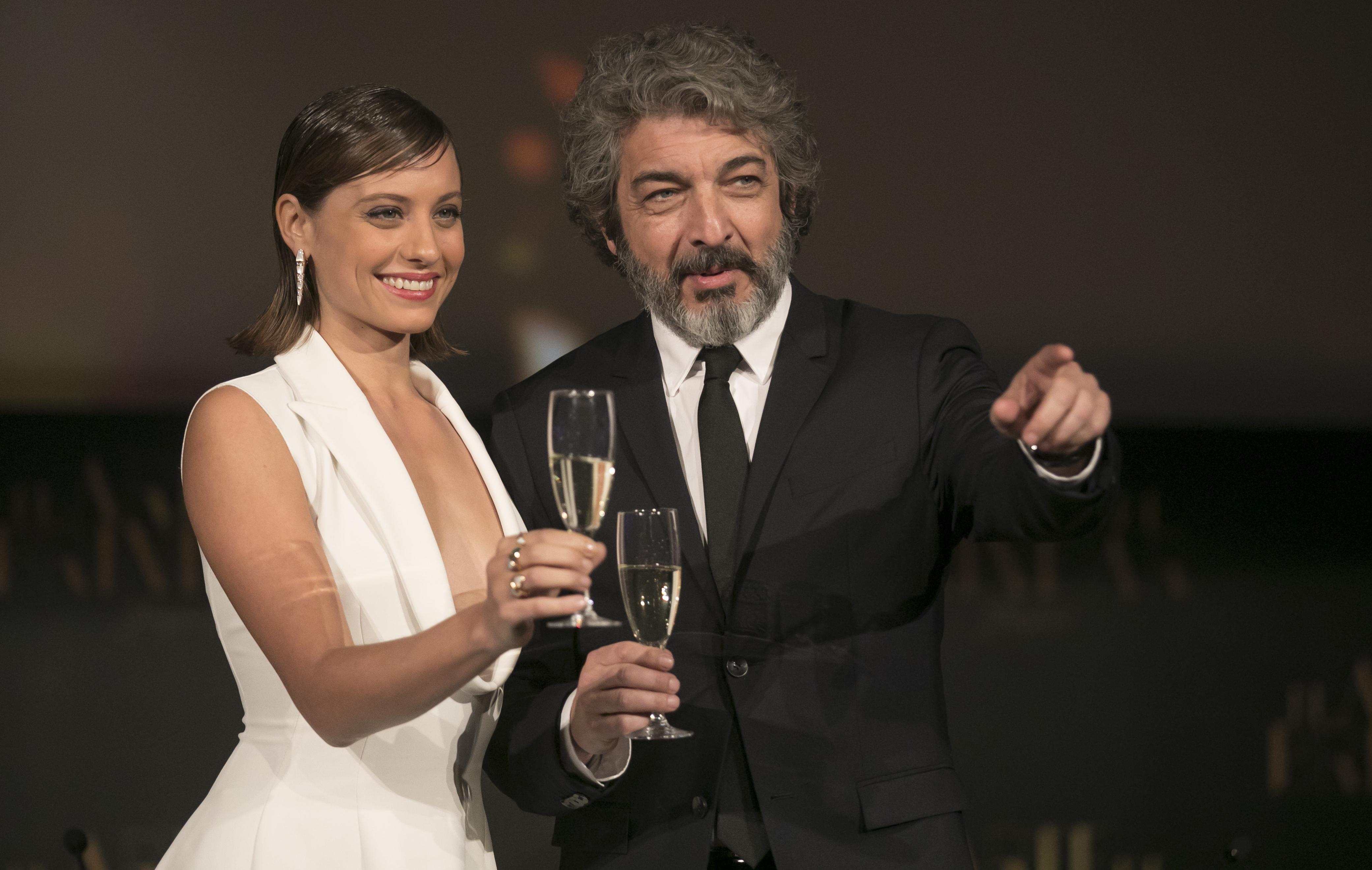 Ricardo Darín i Michelle Jenner