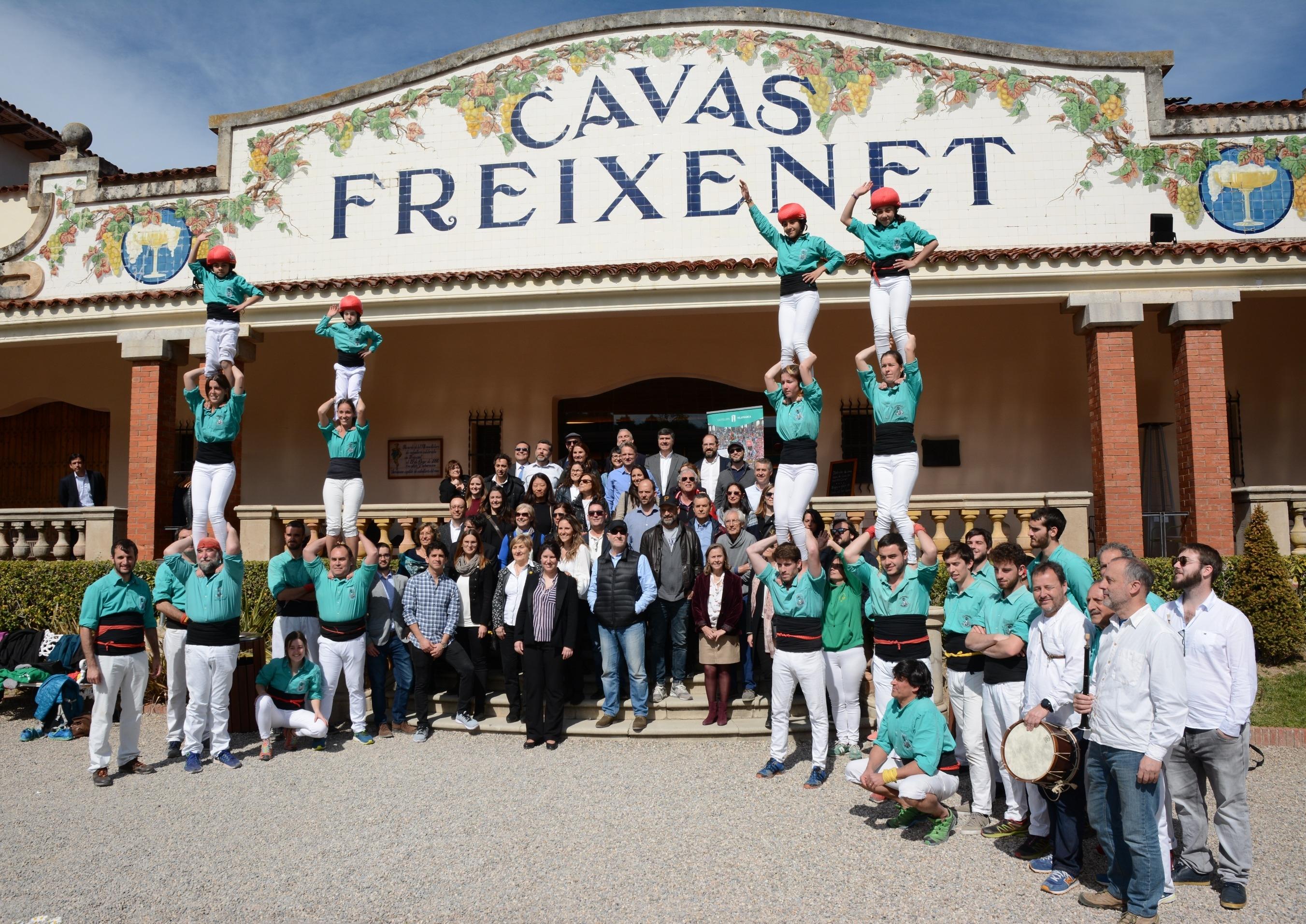 Freixenet promotes the Penedès region