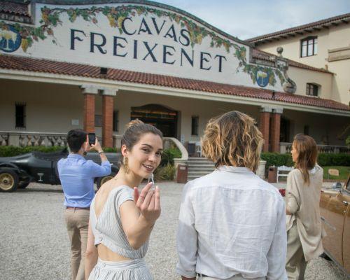 Visit to Freixenet
