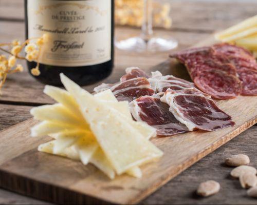 Tasting of Cavas and Iberian hams