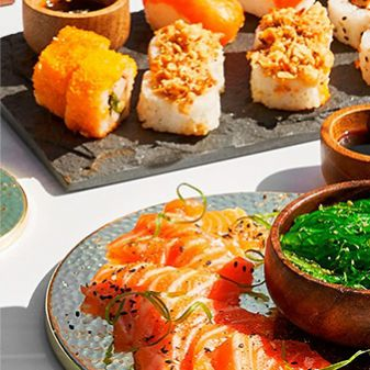 Japanese food and rice dishes