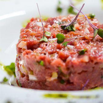 lean fish, tartar y white meat